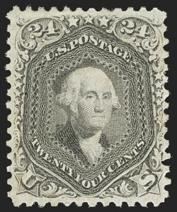 Sale Number 1140, Lot Number 432, 1861-66 Issue (Scott 62B-78)24c Lilac (78), 24c Lilac (78)