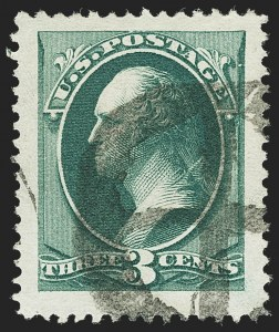 Sale Number 1140, Lot Number 555, 1879-88 American Bank Note Co. Issues (Scott 182-218)3c Green (184), 3c Green (184)