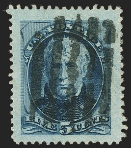 Sale Number 1140, Lot Number 556, 1879-88 American Bank Note Co. Issues (Scott 182-218)5c Blue (185), 5c Blue (185)