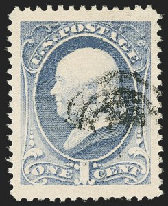 Sale Number 1140, Lot Number 565, 1879-88 American Bank Note Co. Issues (Scott 182-218)1c Gray Blue (206), 1c Gray Blue (206)