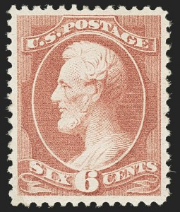 Sale Number 1140, Lot Number 567, 1879-88 American Bank Note Co. Issues (Scott 182-218)6c Rose (208), 6c Rose (208)