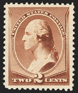 Sale Number 1140, Lot Number 569, 1879-88 American Bank Note Co. Issues (Scott 182-218)2c Red Brown (210), 2c Red Brown (210)