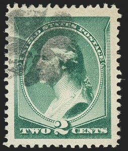 Sale Number 1140, Lot Number 571, 1879-88 American Bank Note Co. Issues (Scott 182-218)2c Green (213), 2c Green (213)