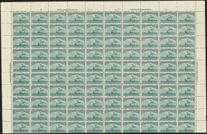 Sale Number 1140, Lot Number 596, 1c-50c 1893 Columbian Issue (Scott 230-240)3c Columbian (232), 3c Columbian (232)