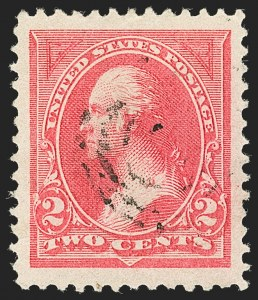 Sale Number 1140, Lot Number 640, 1894-98 Bureau Issues (Scott 246-282)2c Pink, Ty. I (248), 2c Pink, Ty. I (248)