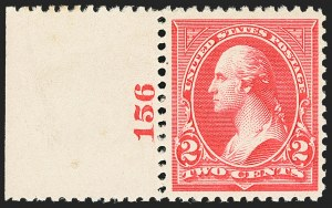 Sale Number 1140, Lot Number 643, 1894-98 Bureau Issues (Scott 246-282)2c Carmine, Ty. III (252), 2c Carmine, Ty. III (252)