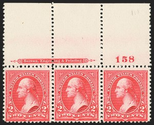 Sale Number 1140, Lot Number 644, 1894-98 Bureau Issues (Scott 246-282)2c Carmine, Ty. III (252), 2c Carmine, Ty. III (252)