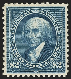 Sale Number 1140, Lot Number 671, 1894-98 Bureau Issues (Scott 246-282)$2.00 Bright Blue (277), $2.00 Bright Blue (277)