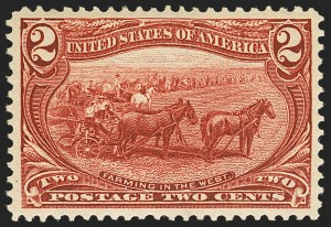 Sale Number 1140, Lot Number 683, 1c-50c 1898 Trans-Mississippi Issue (Scott 285-291)2c Trans-Mississippi (286), 2c Trans-Mississippi (286)