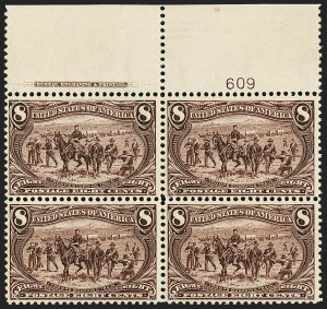 Sale Number 1140, Lot Number 687, 1c-50c 1898 Trans-Mississippi Issue (Scott 285-291)8c Trans-Mississippi (289), 8c Trans-Mississippi (289)