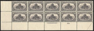 Sale Number 1140, Lot Number 692, 1c-50c 1898 Trans-Mississippi Issue (Scott 285-291)10c Trans-Mississippi (290), 10c Trans-Mississippi (290)