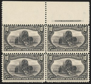 Sale Number 1140, Lot Number 693, 1c-50c 1898 Trans-Mississippi Issue (Scott 285-291)10c Trans-Mississippi (290), 10c Trans-Mississippi (290)