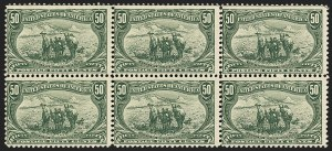 Sale Number 1140, Lot Number 697, 1c-50c 1898 Trans-Mississippi Issue (Scott 285-291)50c Trans-Mississippi (291), 50c Trans-Mississippi (291)
