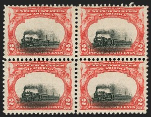 Sale Number 1140, Lot Number 720, 1901 Pan-American Issue (Scott 294-299)2c Pan-American (295), 2c Pan-American (295)