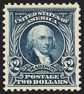Sale Number 1140, Lot Number 745, 1902-08 Issues (Scott 300-320)$2.00 Dark Blue (312), $2.00 Dark Blue (312)