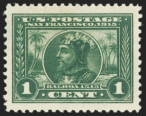 Sale Number 1140, Lot Number 831, 1913-15 Panama-Pacific Issue (Scott 397-404)1c Panama-Pacific (397), 1c Panama-Pacific (397)