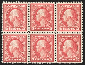 Sale Number 1140, Lot Number 888, 1916-17 Issues (Scott 462-480)5c Carmine, Error (467), 5c Carmine, Error (467)