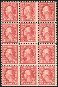 Sale Number 1140, Lot Number 889, 1916-17 Issues (Scott 462-480)5c Carmine, Error (467), 5c Carmine, Error (467)