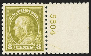 Sale Number 1140, Lot Number 892, 1916-17 Issues (Scott 462-480)8c Olive Green (470), 8c Olive Green (470)