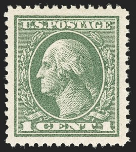 Sale Number 1140, Lot Number 950, 1918-22 Issues (Scott 525-550)1c Gray Green (536), 1c Gray Green (536)