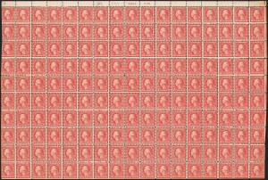 Sale Number 1140, Lot Number 956, 1918-22 Issues (Scott 525-550)2c Carmine Rose, Ty. III, Rotary (546), 2c Carmine Rose, Ty. III, Rotary (546)