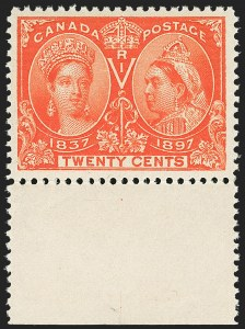 Sale Number 1143, Lot Number 3237, Canada - Large Queens thru Jubilee IssueCANADA, 1897, -1/2c-20c Jubilee (50, 51, 53, 55, 56, 59), CANADA, 1897, -1/2c-20c Jubilee (50, 51, 53, 55, 56, 59)