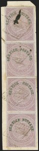Sale Number 1143, Lot Number 3425, India - OfficialsINDIA, 1866, -1/2a Violet, Official (SG O19; Scott O15), INDIA, 1866, -1/2a Violet, Official (SG O19; Scott O15)