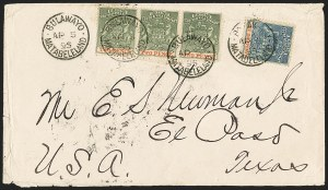 Sale Number 1143, Lot Number 3530, Papua thru RhodesiaRHODESIA, 1890-94, -1/2p Blue and Vermilion, 2p Gray Green and Vermilion (1, 3; SG 18, 20), RHODESIA, 1890-94, -1/2p Blue and Vermilion, 2p Gray Green and Vermilion (1, 3; SG 18, 20)