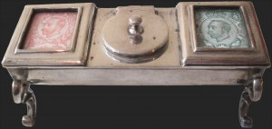 Sale Number 1143, Lot Number 3591, Stamp BoxesChester 1901 Sterling, Chester 1901 Sterling