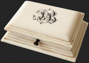 Sale Number 1143, Lot Number 3607, Stamp BoxesIvory Box, Ivory Box