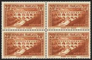 Sale Number 1143, Lot Number 3741, France incl. OfficesFRANCE, 1932, 20fr Orange Brown, Die III, Perf 13 (254A; Yvert 262), FRANCE, 1932, 20fr Orange Brown, Die III, Perf 13 (254A; Yvert 262)