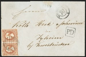 Sale Number 1143, Lot Number 3849, Lithuania thru LuxembourgLUXEMBOURG, 1852-59, 1sg Brown Red (2; Michel 2c; Prifix 2), LUXEMBOURG, 1852-59, 1sg Brown Red (2; Michel 2c; Prifix 2)