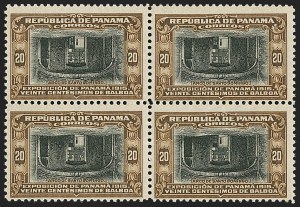 Sale Number 1143, Lot Number 3875, Nicaragua thru PolandPANAMA, 1915, 20c Brown & Black, Center Inverted (212a), PANAMA, 1915, 20c Brown & Black, Center Inverted (212a)