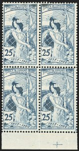 Sale Number 1143, Lot Number 3913, Surinam thru SwitzerlandSWITZERLAND, 1900, 25c UPU, Re-engraved (103; Michel 73III), SWITZERLAND, 1900, 25c UPU, Re-engraved (103; Michel 73III)