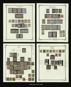 Sale Number 1143, Lot Number 3946, Worldwide Collection Offered Intact by Order of TrusteeA VALUABLE AND IMPORTANT WORLDWIDE STAMP COLLECTION, A VALUABLE AND IMPORTANT WORLDWIDE STAMP COLLECTION