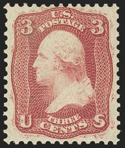 Sale Number 1145, Lot Number 349, 1861-68 Issues3c Brown Rose, First Design (56), 3c Brown Rose, First Design (56)