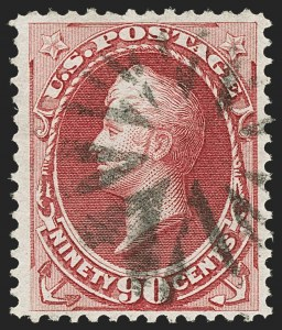 Sale Number 1145, Lot Number 397, 1870-93 Bank Note Issues90c Carmine (155), 90c Carmine (155)