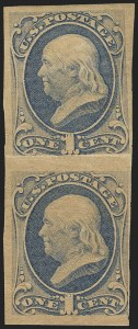 Sale Number 1145, Lot Number 399, 1870-93 Bank Note Issues1c Ultramarine, Imperforate (156f), 1c Ultramarine, Imperforate (156f)