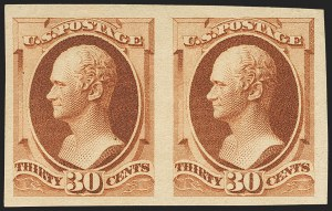 Sale Number 1145, Lot Number 409, 1870-93 Bank Note Issues30c Orange Brown, Imperforate (217a), 30c Orange Brown, Imperforate (217a)