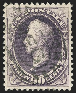 Sale Number 1145, Lot Number 410, 1870-93 Bank Note Issues90c Purple (218), 90c Purple (218)
