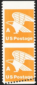"Sale Number 1145, Lot Number 590, Modern Errors (Scott 1735b thru 1945c)(15c) ""A"" Rate, Vertical Pairs, Imperforate Horizontally and Between (1735b, 1735b var), (15c) ""A"" Rate, Vertical Pairs, Imperforate Horizontally and Between (1735b, 1735b var)"
