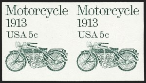 Sale Number 1145, Lot Number 607, Modern Errors (Scott 1735b thru 1945c)5c Motorcycle Coil, Imperforate Pair (1899a), 5c Motorcycle Coil, Imperforate Pair (1899a)
