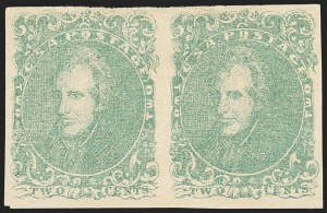 Sale Number 1146, Lot Number 1637, Civil War: Confederate General Issues2c Green (3), 2c Green (3)