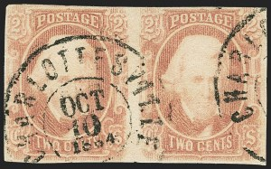 Sale Number 1146, Lot Number 1642, Civil War: Confederate General Issues2c Brown Red (8), 2c Brown Red (8)