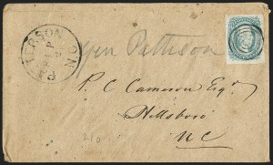 Sale Number 1146, Lot Number 1645, Civil War: Confederate General Issues10c Blue, Die A (11), 10c Blue, Die A (11)