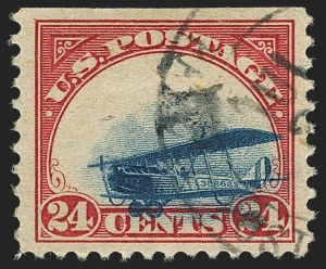 Sale Number 1147, Lot Number 16, Grounded Plane Used and Cover24c Carmine Rose & Blue, 1918 Air Post, Grounded and Slow Plane Variety (C3 var), 24c Carmine Rose & Blue, 1918 Air Post, Grounded and Slow Plane Variety (C3 var)