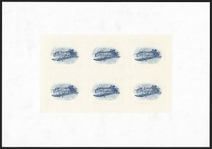 Sale Number 1147, Lot Number 63, Inverted Jenny Reprint and Non-Inverted Sheet$2.00 Red & Blue, Inverted Jenny, Limited Edition Souvenir Kit (4806 var), $2.00 Red & Blue, Inverted Jenny, Limited Edition Souvenir Kit (4806 var)