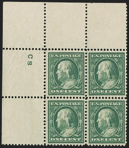 Sale Number 1148, Lot Number 102, One-Cent Green, Two-Cent Carmine (Scott 357-358)1c Green, Bluish (357), 1c Green, Bluish (357)