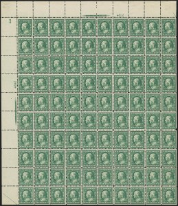 Sale Number 1148, Lot Number 106, One-Cent Green, Two-Cent Carmine (Scott 357-358)1c Green, Bluish (357), 1c Green, Bluish (357)