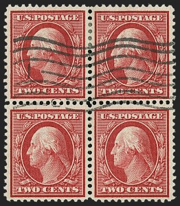 Sale Number 1148, Lot Number 113, One-Cent Green, Two-Cent Carmine (Scott 357-358)2c Carmine, Bluish (358), 2c Carmine, Bluish (358)